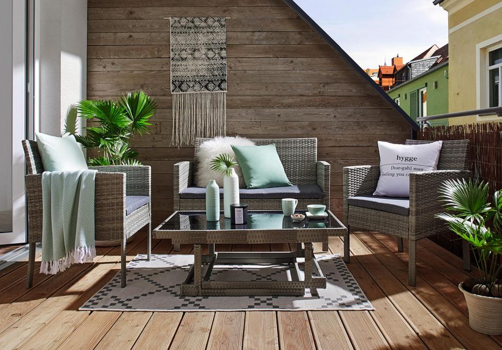balkonm bel sets f r kleine balkone m max. Black Bedroom Furniture Sets. Home Design Ideas