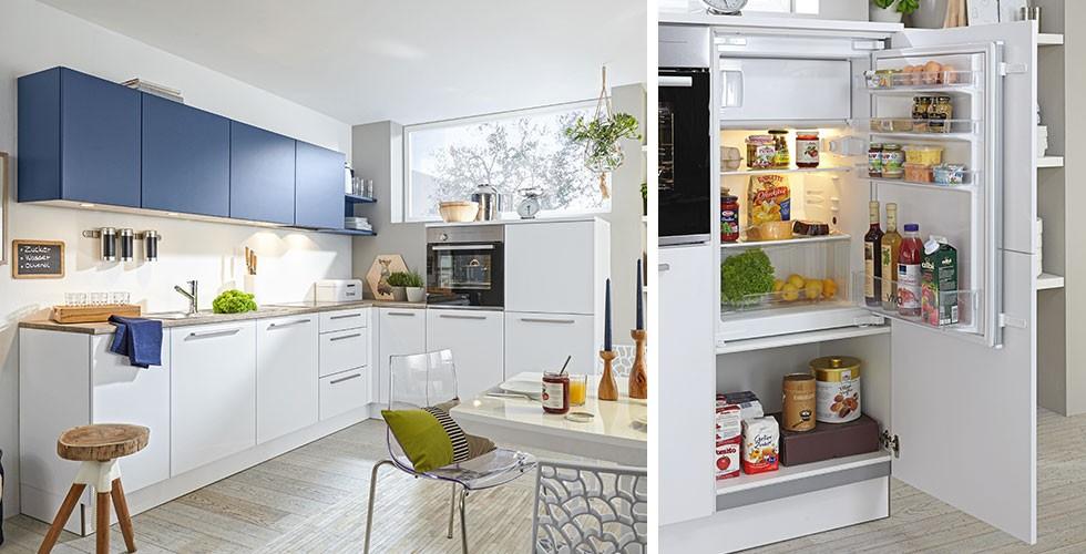 Kühlschrank mit Gefrierkombination, Stil modern und matt bei mömax