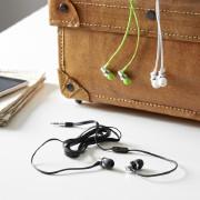 In Ear Kopfhörer in weiß , schwarz und grün