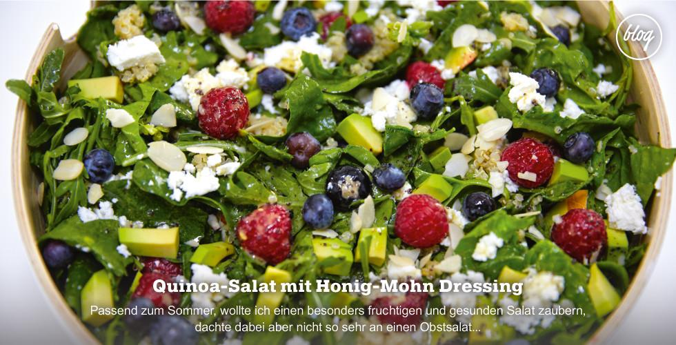 Quinoa Salat zum Picknick - Jetzt Rezept am Blog nachmachen!