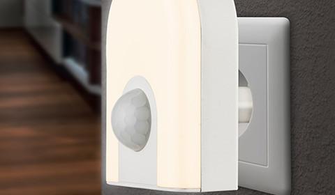 Stylisches Nachtlicht für die Steckdose von mömax