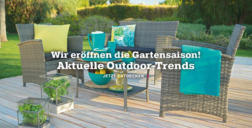 Wir eröffnen die Gartensaison - Jetzt Outdoormöbel finden!
