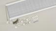 Plissee Free Weiß, 90x210cm - Weiß, Textil (90/210cm) - Premium Living