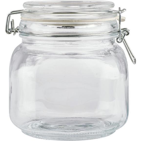 Einmachglas Nele aus Glas ca. 750ml - Klar, Glas/Metall (11,5/12,5cm) - Mömax modern living