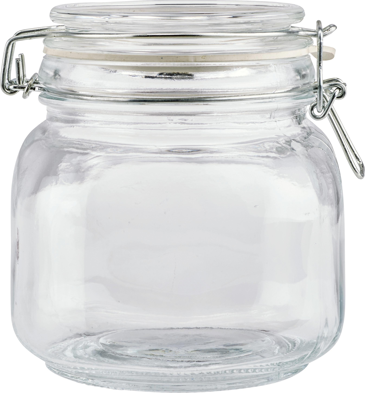 Einmachglas Nele aus Glas - Klar, Glas/Metall (11,5/12,5cm) - MÖMAX modern living