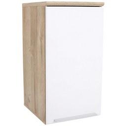 Viseča Omara Mindi - aluminij/bela, Konvencionalno, kovina/umetna masa (40,2/68,1/29,8cm) - Mömax modern living