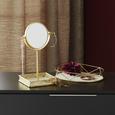 Schmuckhalter Kim Goldfarben - Goldfarben, Metall (20,50/15,39/29,50cm) - Mömax modern living