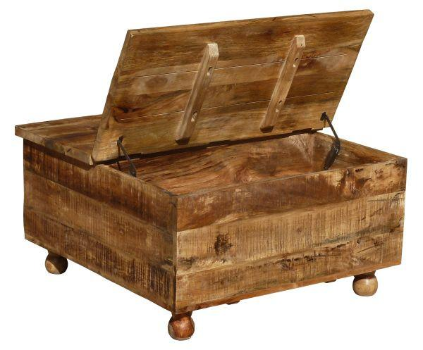 Couchtisch Holz - Multicolor, LIFESTYLE, Holz/Holzwerkstoff (85/45/85cm) - ZANDIARA