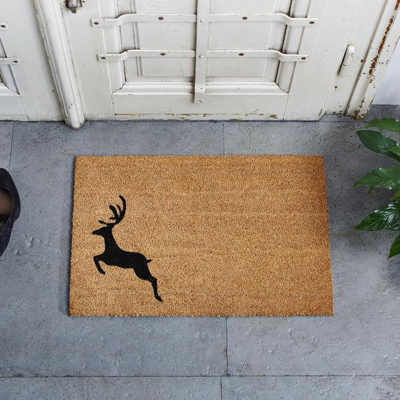 Fußmatte My Deer 40x60cm - Braun, MODERN, Textil (40/60cm) - Mömax modern living