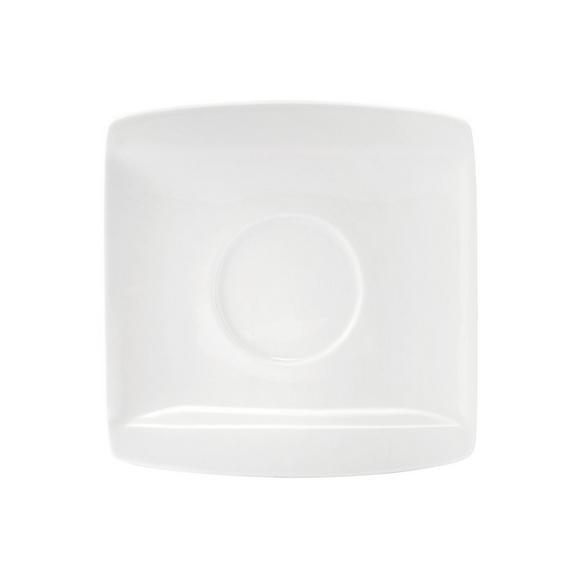 Krožniček Pura - Espresso - bela, Trendi, keramika (10,7/10,8cm) - Mömax modern living