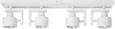 Deckenleuchte Sam 4-flammig - Weiß, MODERN, Metall (57/8/13cm) - Mömax modern living