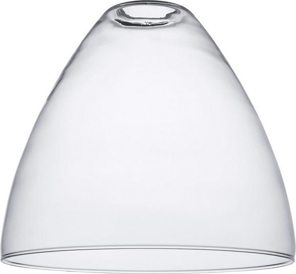 Leuchtenschirm Frieda aus Glas - Transparent, Glas (24/22cm) - MÖMAX modern living