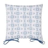 Ülőpárna Agnes - Kék, modern, Textil (40/40cm) - Mömax modern living