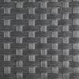 Loungegarnitur Luan in grau inkl. Tisch - Grau, MODERN, Glas/Kunststoff - Bessagi Garden
