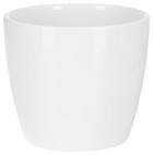Cvetlični Lonček Stefanie -based- - bela, keramika (10,3/8,9cm) - BASED