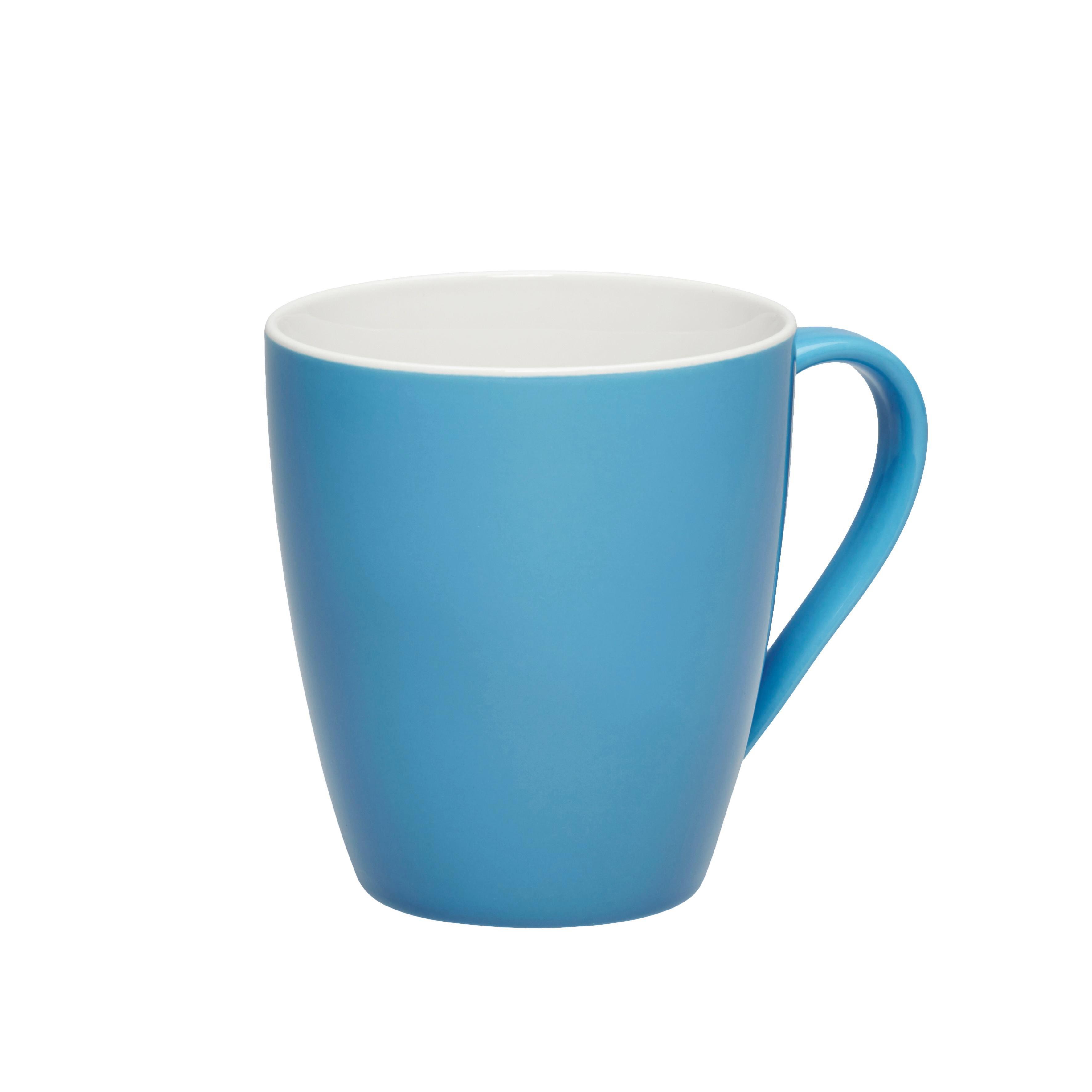 Kaffeebecher Sandy in Türkis aus Keramik - Türkis, KONVENTIONELL, Keramik (8,9/10cm) - MÖMAX modern living