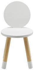 Kinderstuhl Leni - Weiß/Pinienfarben, MODERN, Holz/Holzwerkstoff (27,40/51/27,40cm) - Modern Living