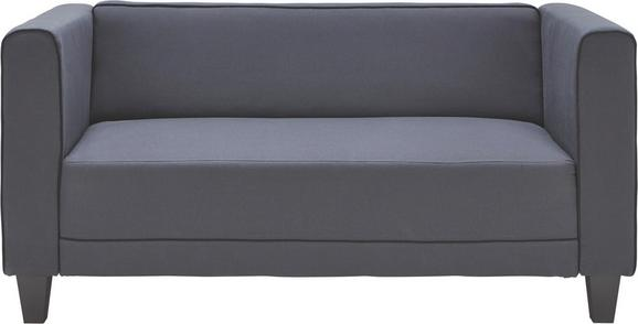 Dvosed Kim - siva, kovina/umetna masa (143/70/80cm) - Mömax modern living