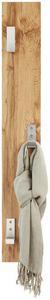 Wandgarderobe Eichefarben - Eichefarben, MODERN, Holzwerkstoff (15/115cm)