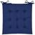 Sitzkissen Lola Blau 40x40cm - Blau, Textil (40/40/2cm) - Based