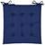 Sitzkissen Lola Blau ca. 40x40cm - Blau, Textil (40/40/2cm) - Based
