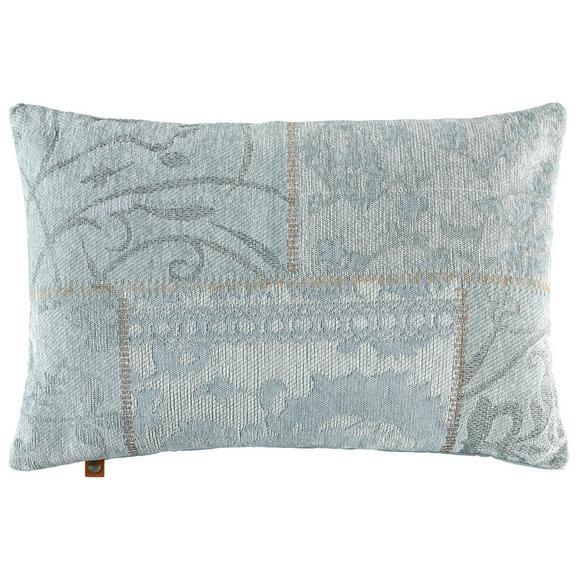 Kissen in Mint 'Alizza' ca. 40x60cm - Mintgrün, MODERN, Textil (40/60cm) - Bessagi Home