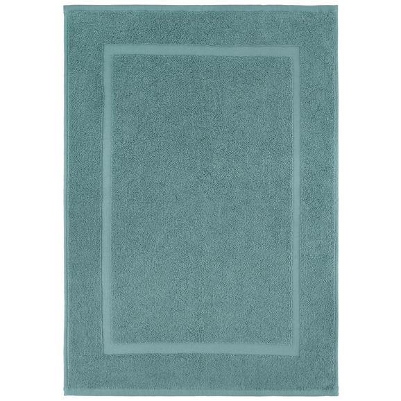 Badematte Melanie ca. 50x70cm - Hellblau, Textil (50/70cm) - Mömax modern living