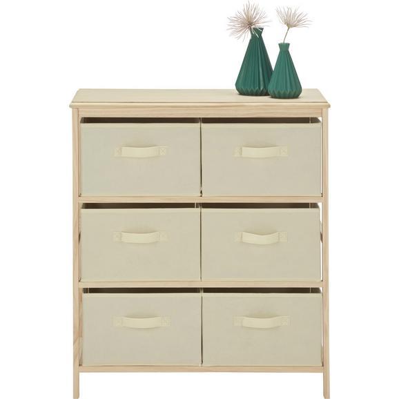 kommode in natur wei aus kiefer online kaufen m max. Black Bedroom Furniture Sets. Home Design Ideas