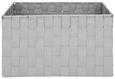 Košara Charlotte - svetlo siva, kovina/umetna masa (33,5/23,5/18cm) - Mömax modern living