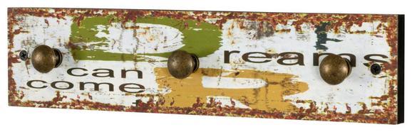 Dream 3 Dream 3 - rdeča/rumena, Moderno, kovina/leseni material (34 8 5cm)