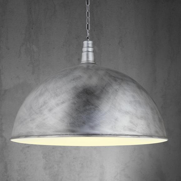 Pendelleuchte XXL Ricardo - Silberfarben, MODERN, Metall (70/130cm) - Mömax modern living