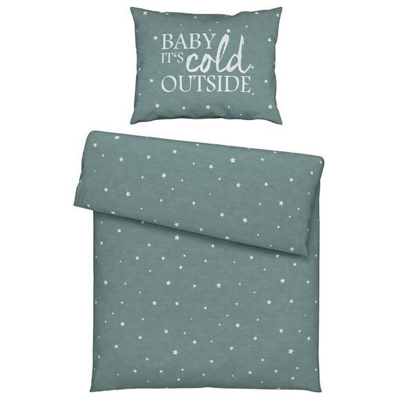 Ágyneműhuzat-garnitúra Baby - Kék, romantikus/Landhaus, Textil (140/200cm) - Mömax modern living