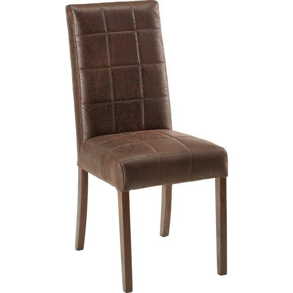 Stol Rafaela - rjava, Konvencionalno (45/100/59cm) - Modern Living