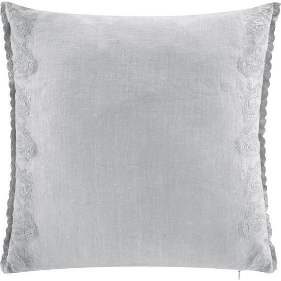 Kissen Melina ca.50x50cm in Grau - Grau, MODERN, Textil (50/50cm) - Bessagi Home