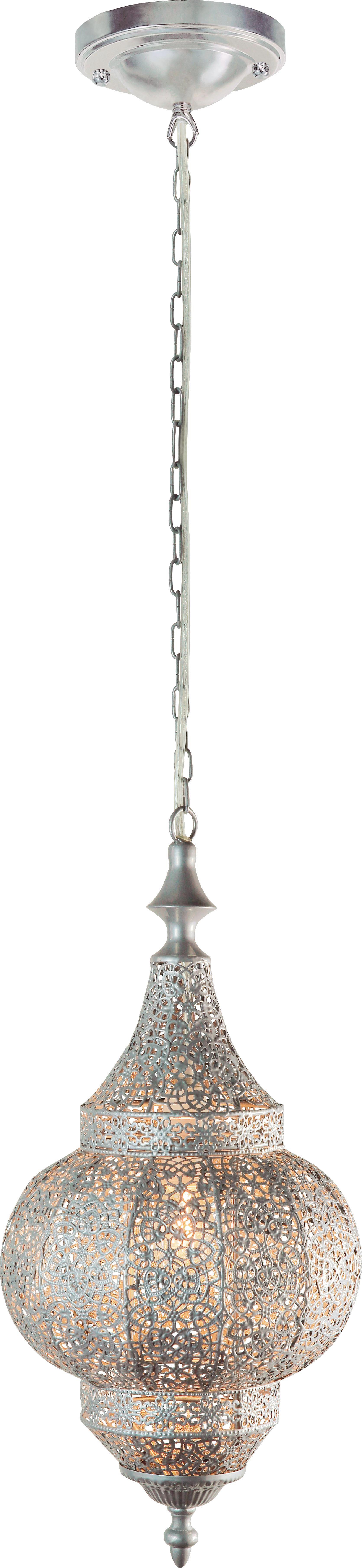 Függőlámpa Orient 2 - ezüst színű, Lifestyle, fém (21/43cm) - MÖMAX modern living