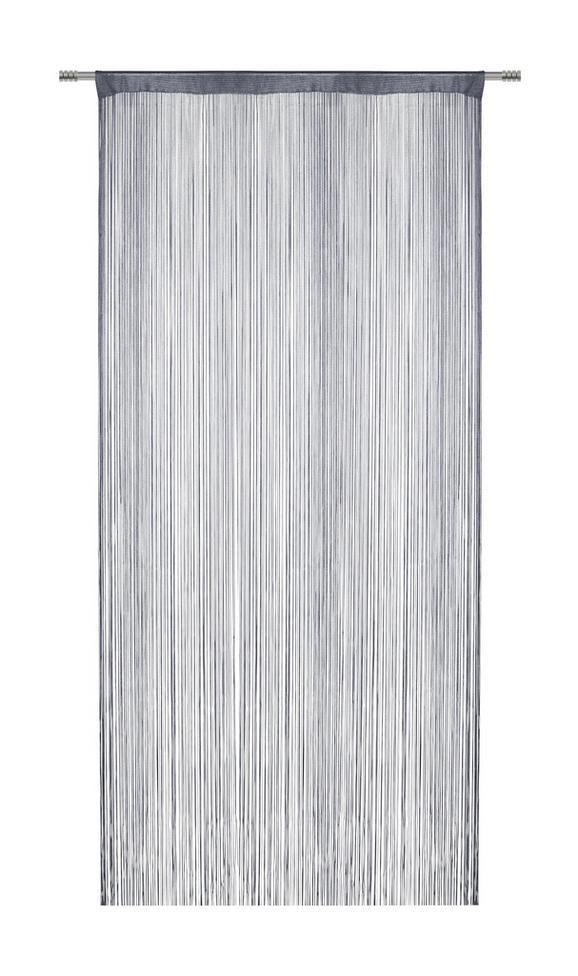 Nitasta Zavesa Franz - siva, tekstil (90/245cm) - Mömax modern living