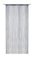 Zsinórfüggöny Franz - Szürke, Textil (90/245cm) - Mömax modern living