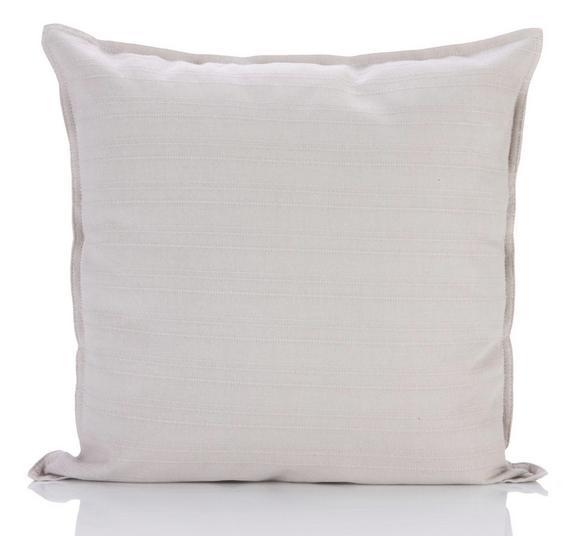 Zierkissen Solid One in Grau, ca. 40x40cm - Grau, Textil (40/40cm)