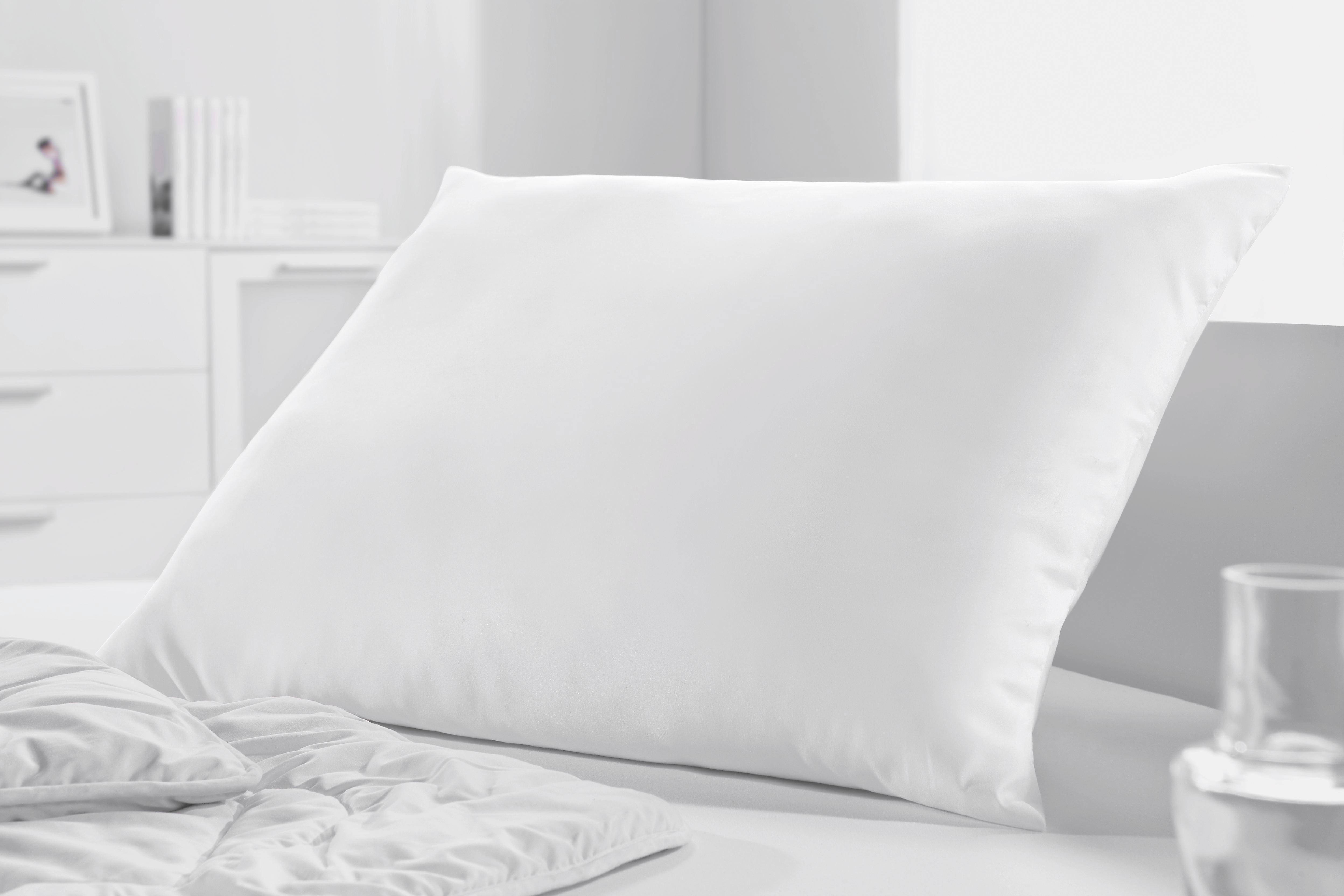 Kopfpolster Zilly in Weiß, ca. 70x90cm - Weiß, Textil (70/90cm) - MÖMAX modern living