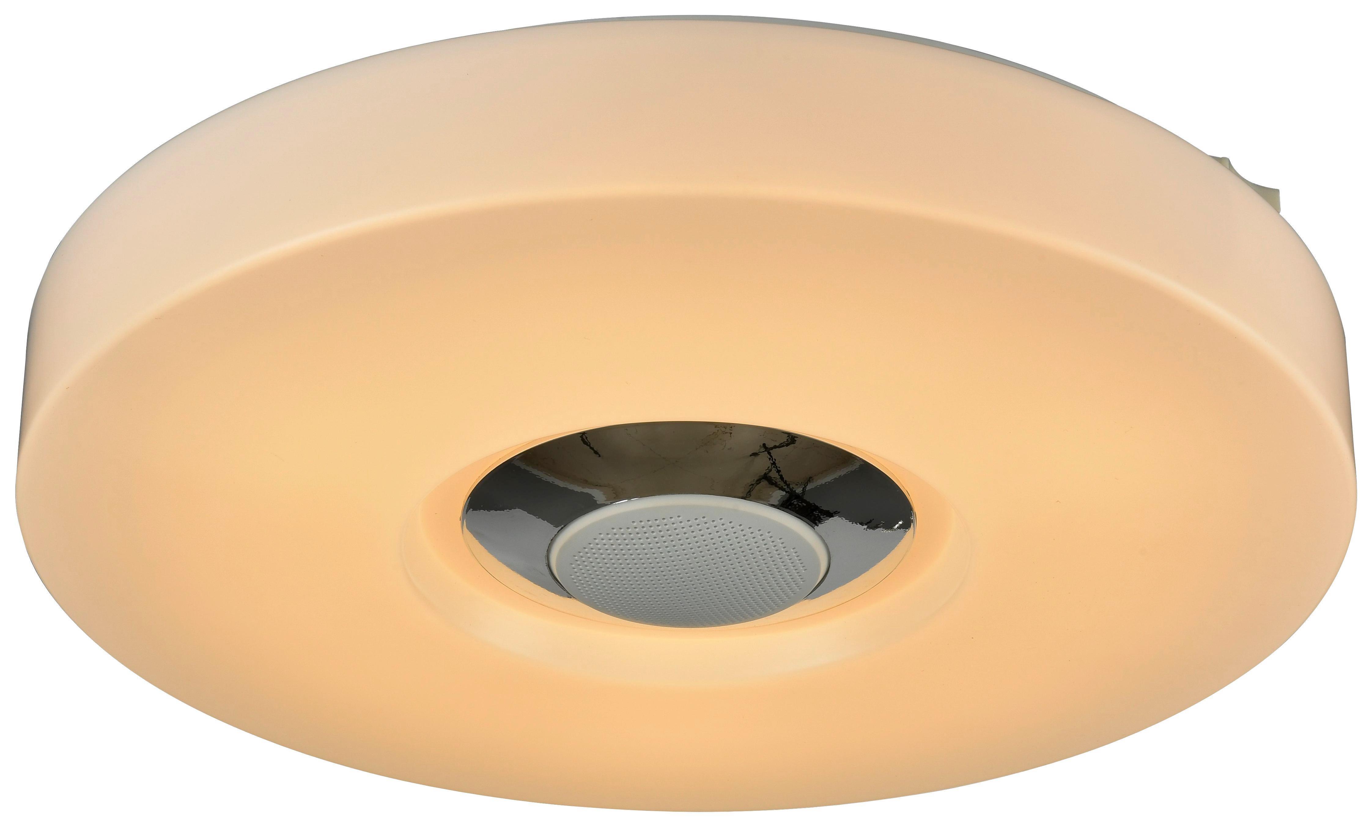 LED-Deckenleuchte Prima, max. 15 Watt - Weiß, Kunststoff/Metall (35/6cm)