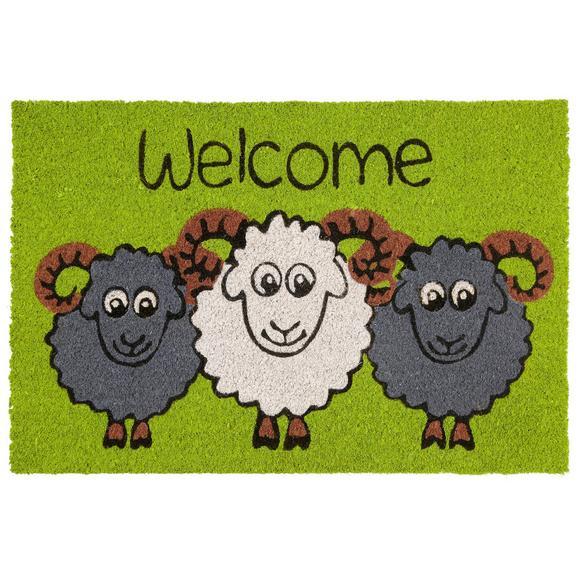 Fußmatte Sheep ca. 40x60cm - Multicolor, Textil (40/60cm) - Mömax modern living