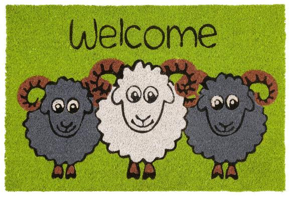 Predpražnik Welcome Sheep - večbarvno (40/60cm) - Mömax modern living