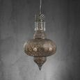Hängeleuchte Sarala - Silberfarben, MODERN, Metall (42/170cm) - Modern Living