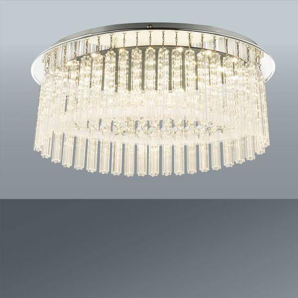 Led Mennyezeti Lámpa Maike - modern, műanyag/üveg (38/20/17cm) - MÖMAX modern living
