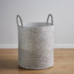 Korb Shannon - Silberfarben, MODERN, Kunststoff (36/44cm)
