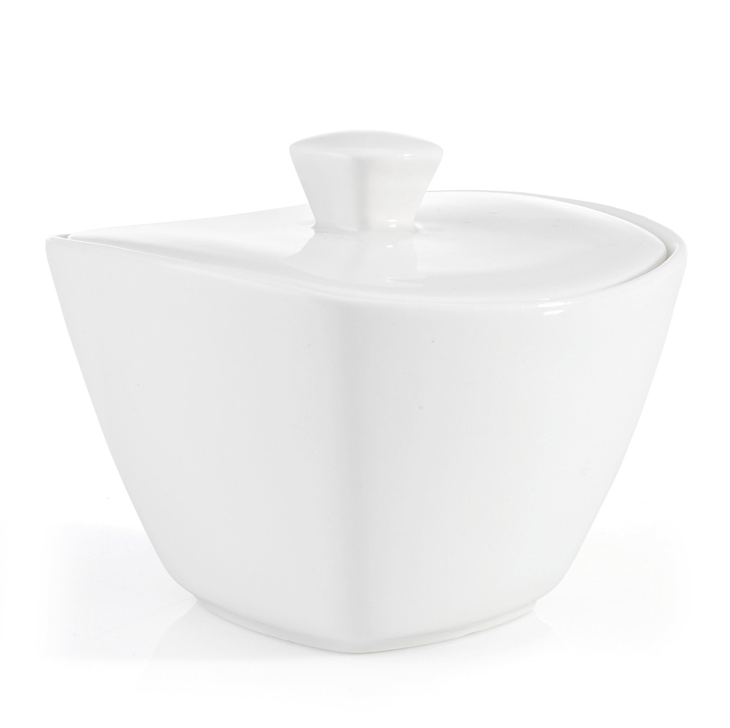 Posoda Za Sladkor Tacoma - bela, Trendi, keramika (11/7,4/11cm) - premium living