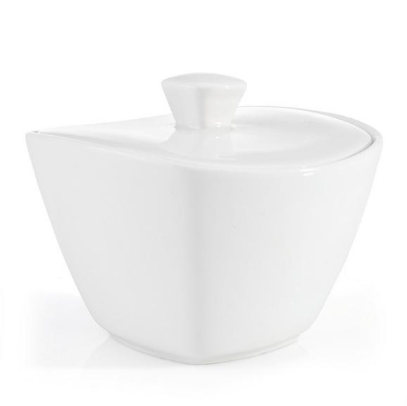 zuckerdose Tacoma in Weiß - Weiß, LIFESTYLE, Keramik (11/7,4/11cm) - PREMIUM LIVING