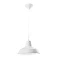Hängeleuchte max. 60 Watt 'Leon' - Weiß, MODERN, Metall (29/125cm) - Bessagi Home