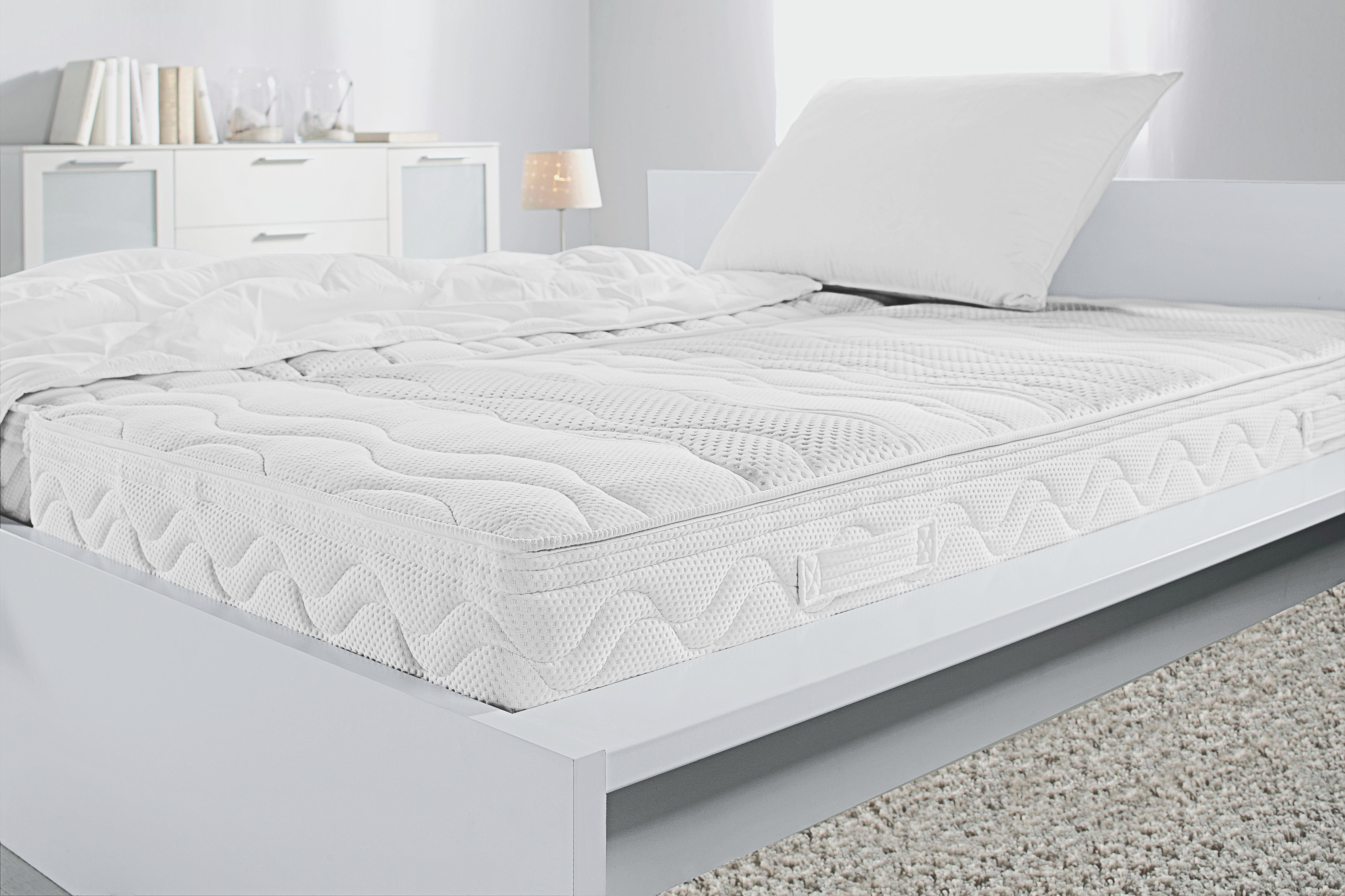 Kaltschaummatratze ca. 140x200cm - Textil (200/140/20cm) - NADANA