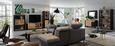 Wohnlandschaft in Hellgrau mit Relaxfunktion - Anthrazit/Hellgrau, KONVENTIONELL, Textil (270/226cm) - Premium Living